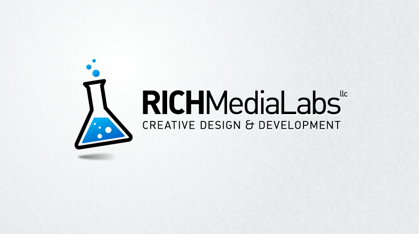 logo and branding for Rich Media Labs